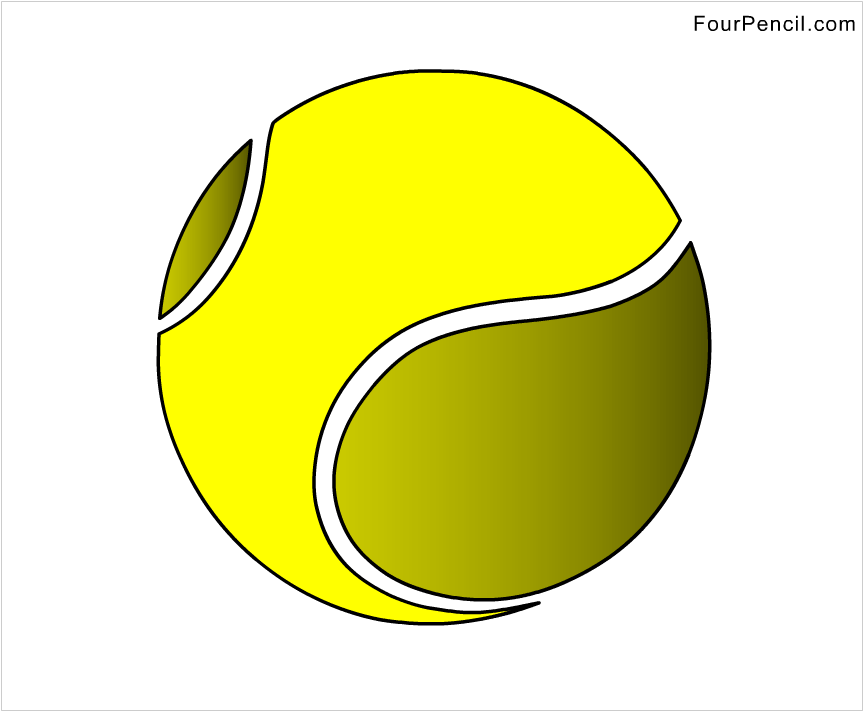 how to make a tennis ball step by step