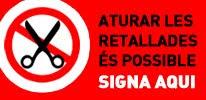 Signa contra les retallades