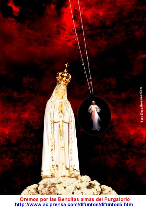 maria madre de dios y divina misericordia