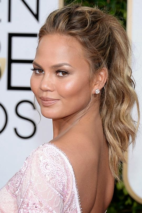 Chrissy Teigen Golden Globes