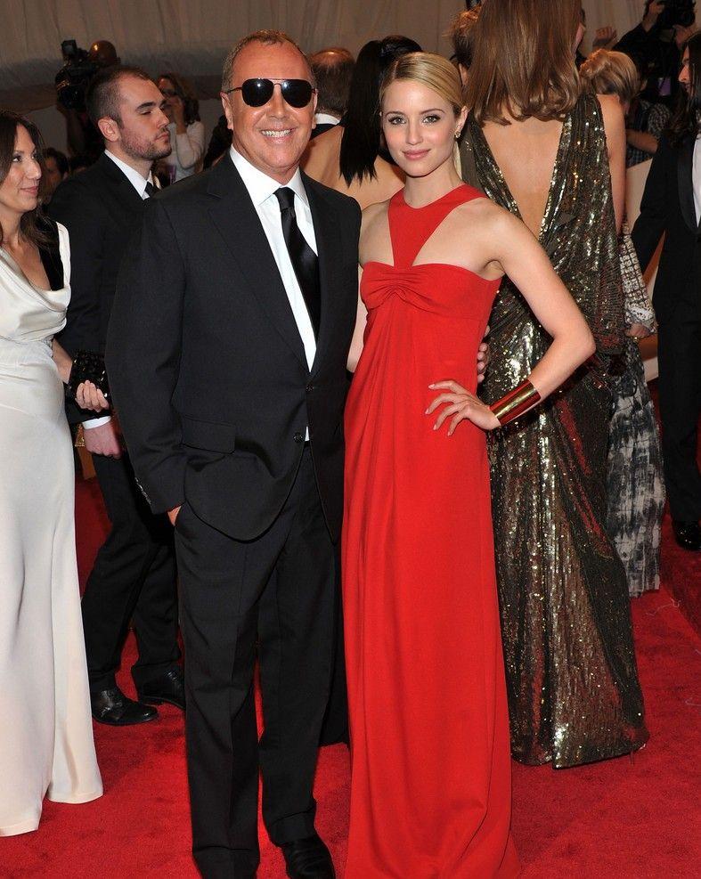 Teen fashion news lea michele y dianna agron en gala met ball for Alfombra en ingles como se escribe