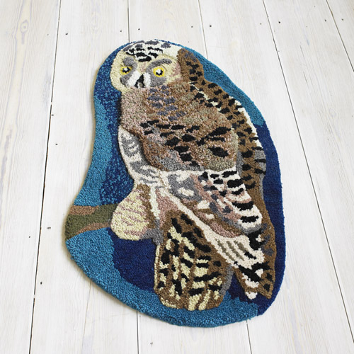 My Owl Barn: Nathalie Lete: Owl Rug