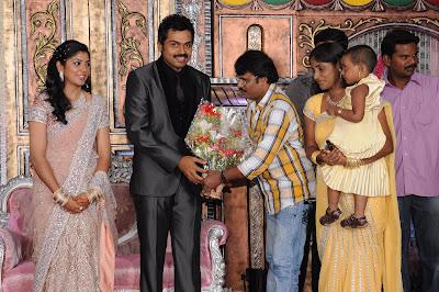 Karthi Wedding Reception Photos release images