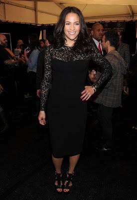 Paula Patton Little Black Dress