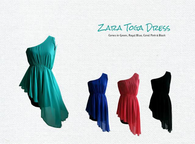Zara Toga Dress