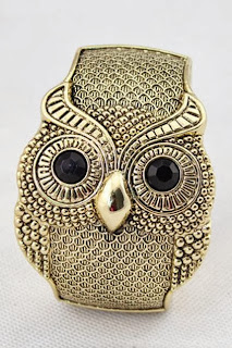 Vintage Owl Bangle