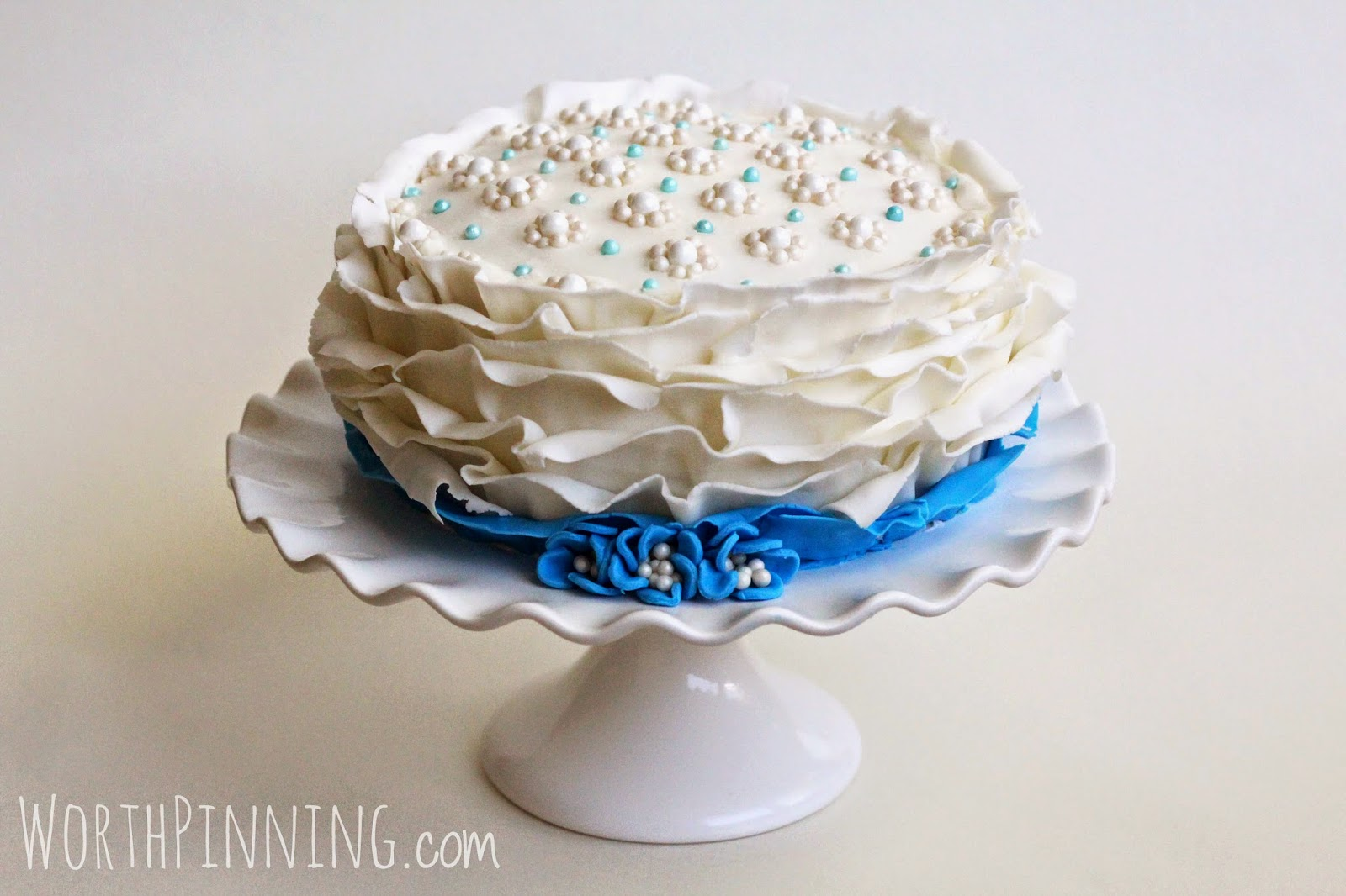 Ruffle Cake Frosting Tip