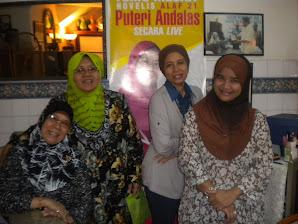 Antara rakan-rakan penulis Karangkraf terhebat