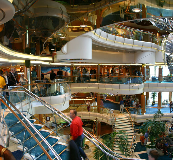 HD WALLPAPER For Pc And Mobile : Luxury Cruises Ship Inside