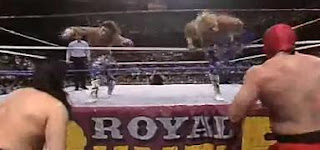 WWF ROYAL RUMBLE 1991 - The Rockers and The Orient Express delivered a classic opening match