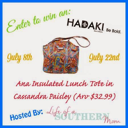 Hadaki Insulated Lunch Tote Bag Giveaway