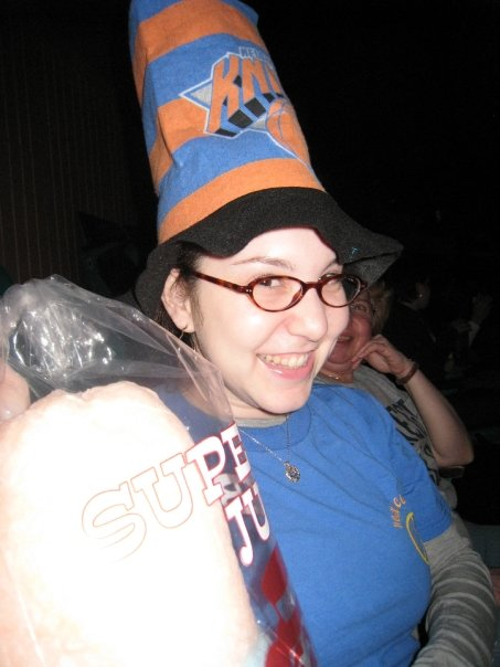 Throwback Thursday, #tbt, Jamie Allison Sanders, hats, hat obsession, fashion, Knicks game