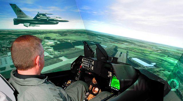 Virtual Reality di bidang penerbangan
