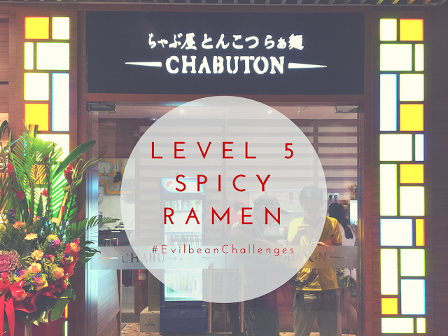 Chabuton Spicy Ramen - 5 levels of spiciness