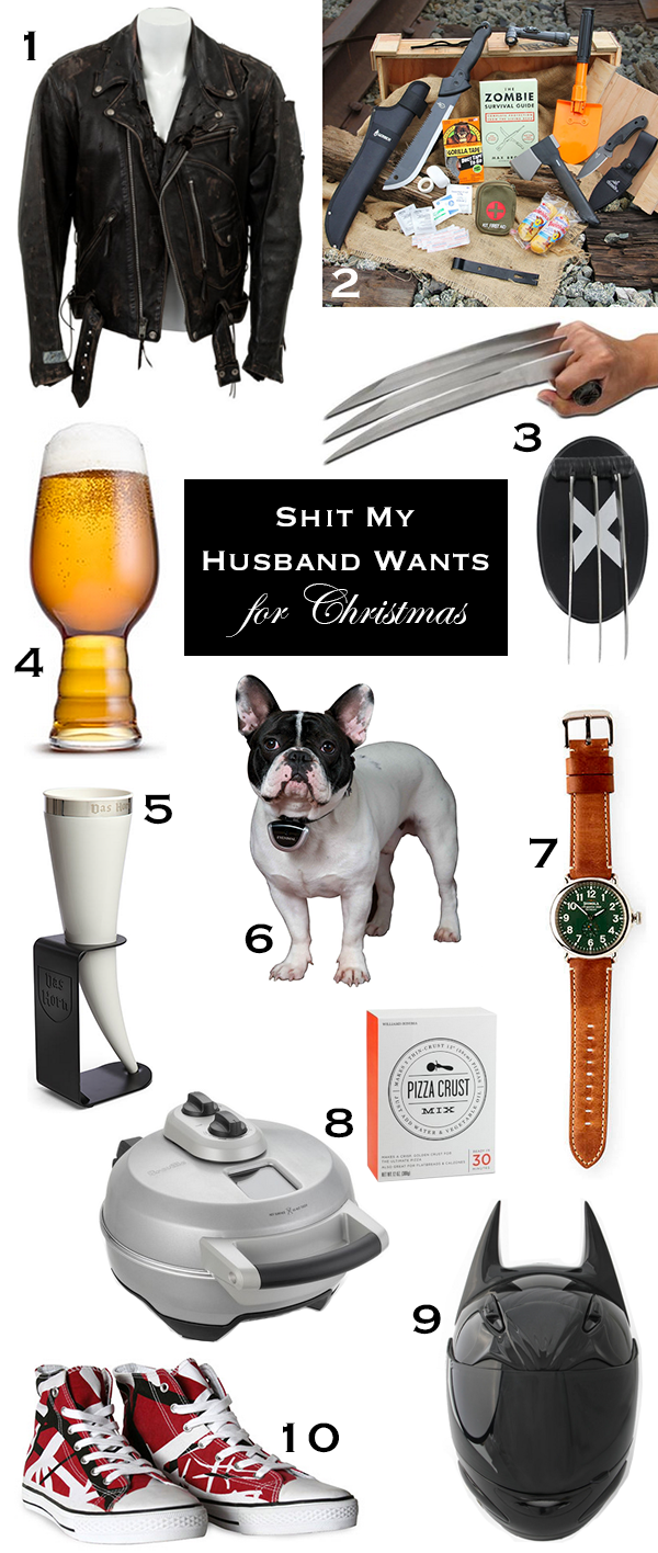 Shit My Husband Wants for Christmas