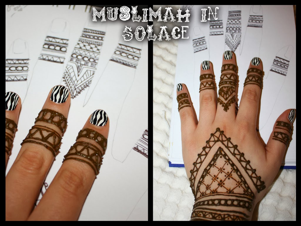 Muslimah In Solace I Love To Henna