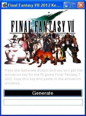 final fantasy vii reloaded keygen
