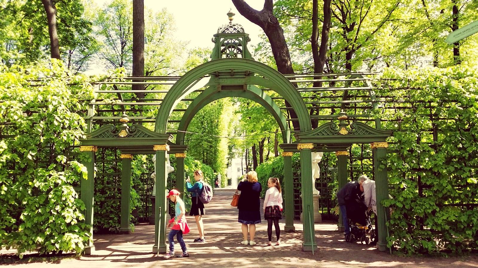 Marca rusia el jard n de verano de san petersburgo - Esculturas para jardines ...