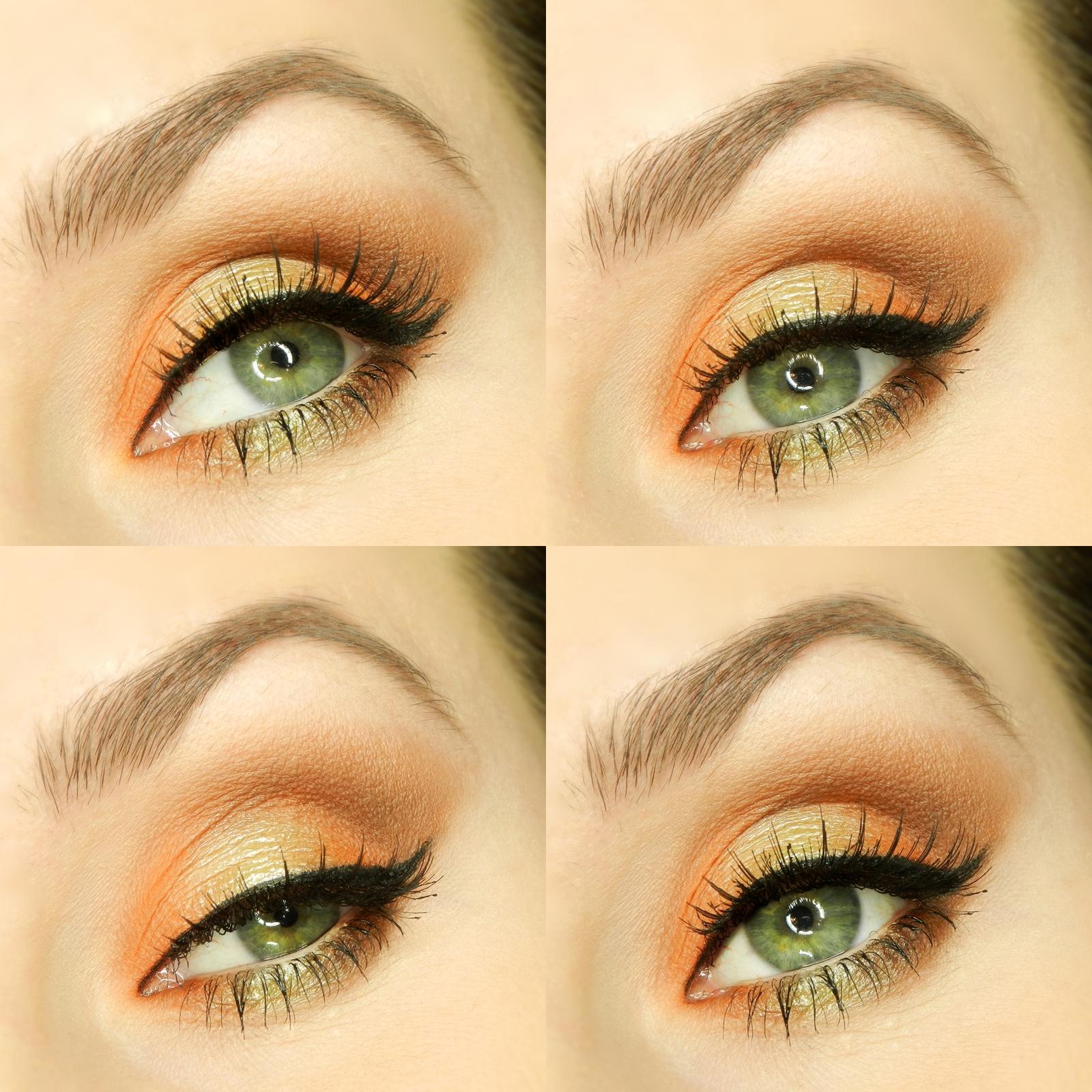 Какой макияж подходит для зелёных глаз