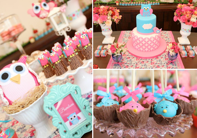 Mummy's Little Dreams: Owl Birthday Party Theme