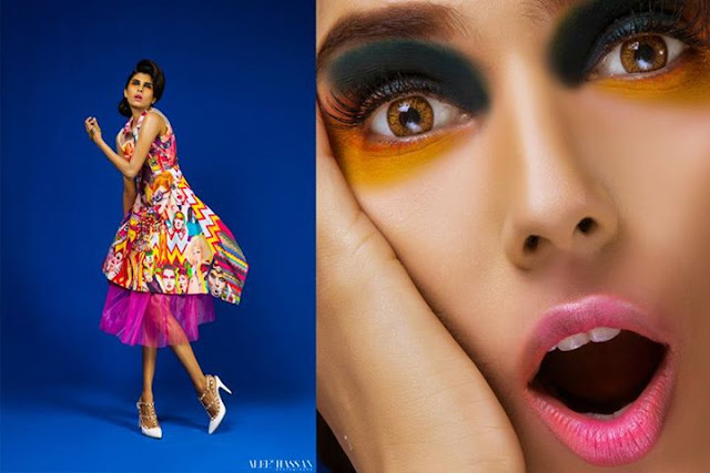 Anam Malik Photoshoot Play On Prints for 9Lines