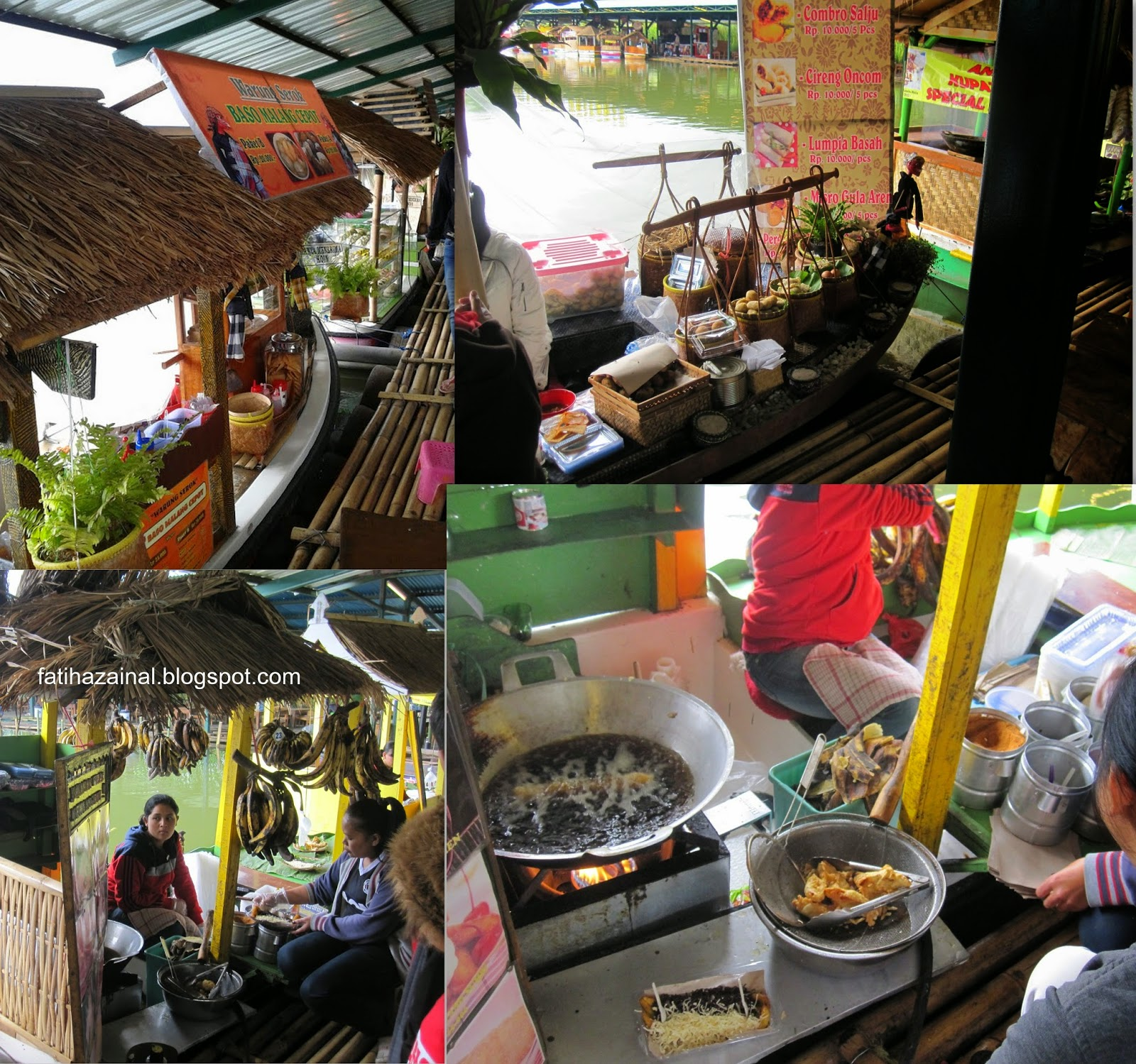 floating market , bandung