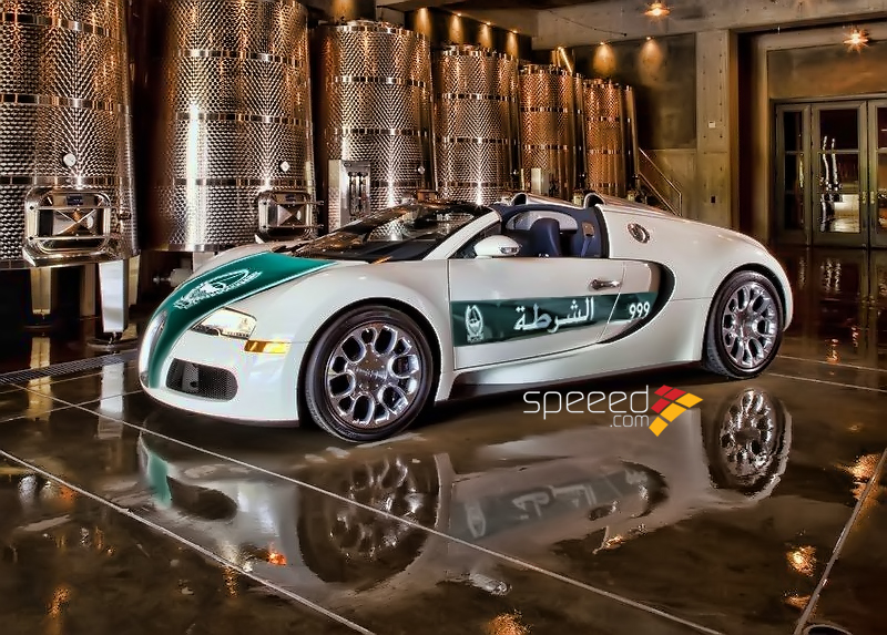 dubai police bugatti veyron will be a grand sport. Black Bedroom Furniture Sets. Home Design Ideas