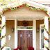 Christmas Decor Outside the House