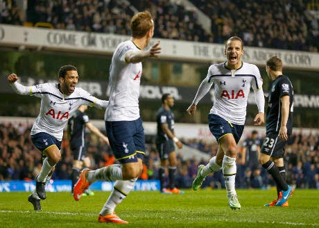 Liga Inggris : Tottenham 2-1 Everton