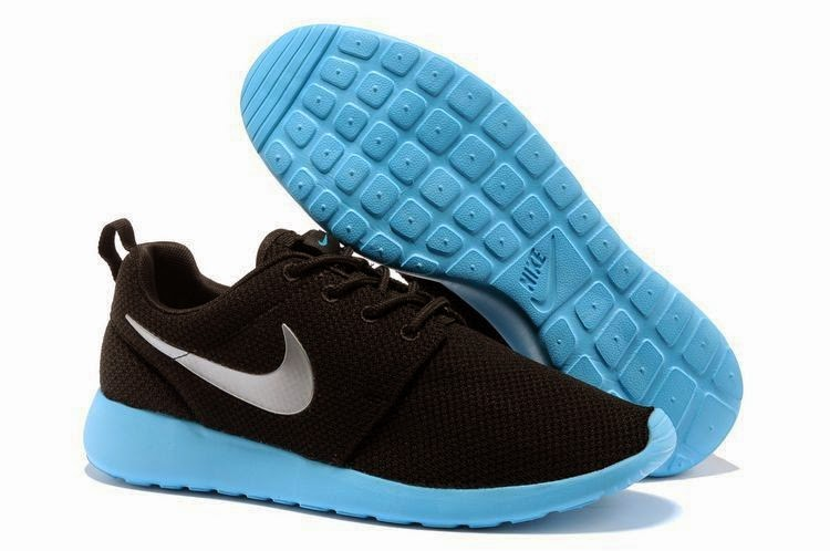 2013 New Mens Nike Roshe Run Shoes Black Gray Yellow Outlet For