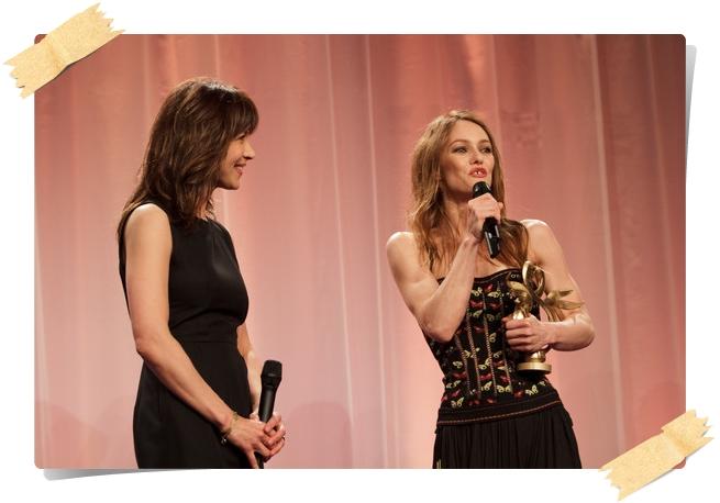Vanessa Paradis Photos from the Swann Awards - Pics 10