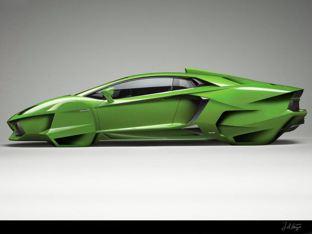 Theodoragoss Lamborghini Cars Lamborghini Aventador Green