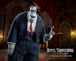 Hotel Translyvania Frankestein 3D Character HD Wallpaper