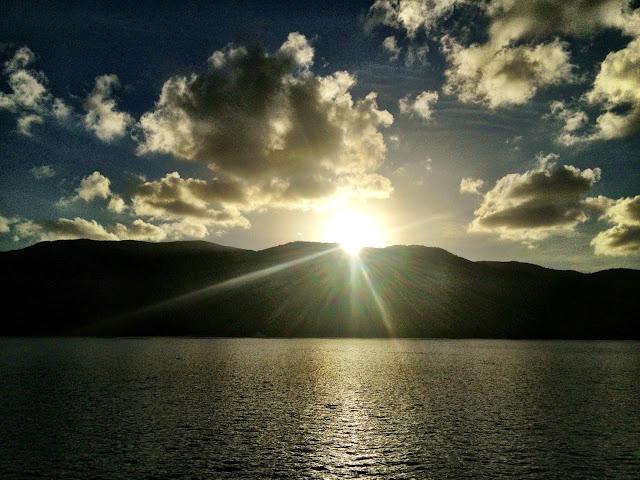 Sunrise in the Whitsundays