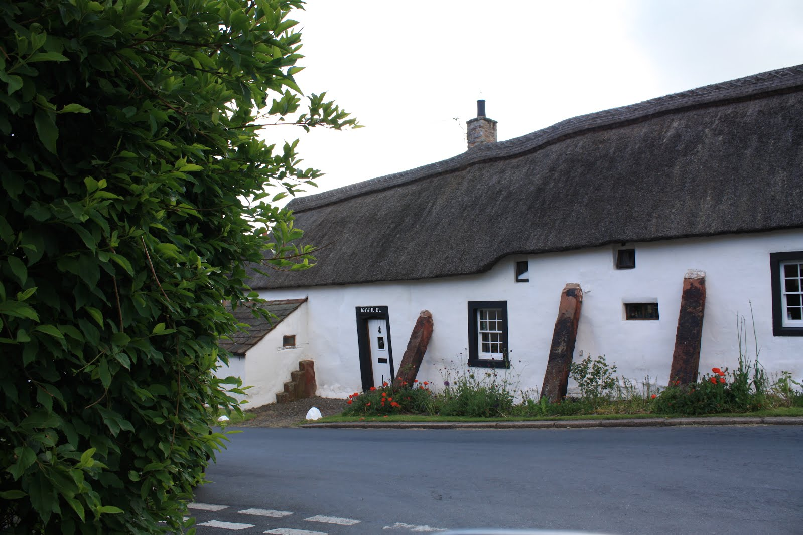 Thatched roof cottage, near Silloth