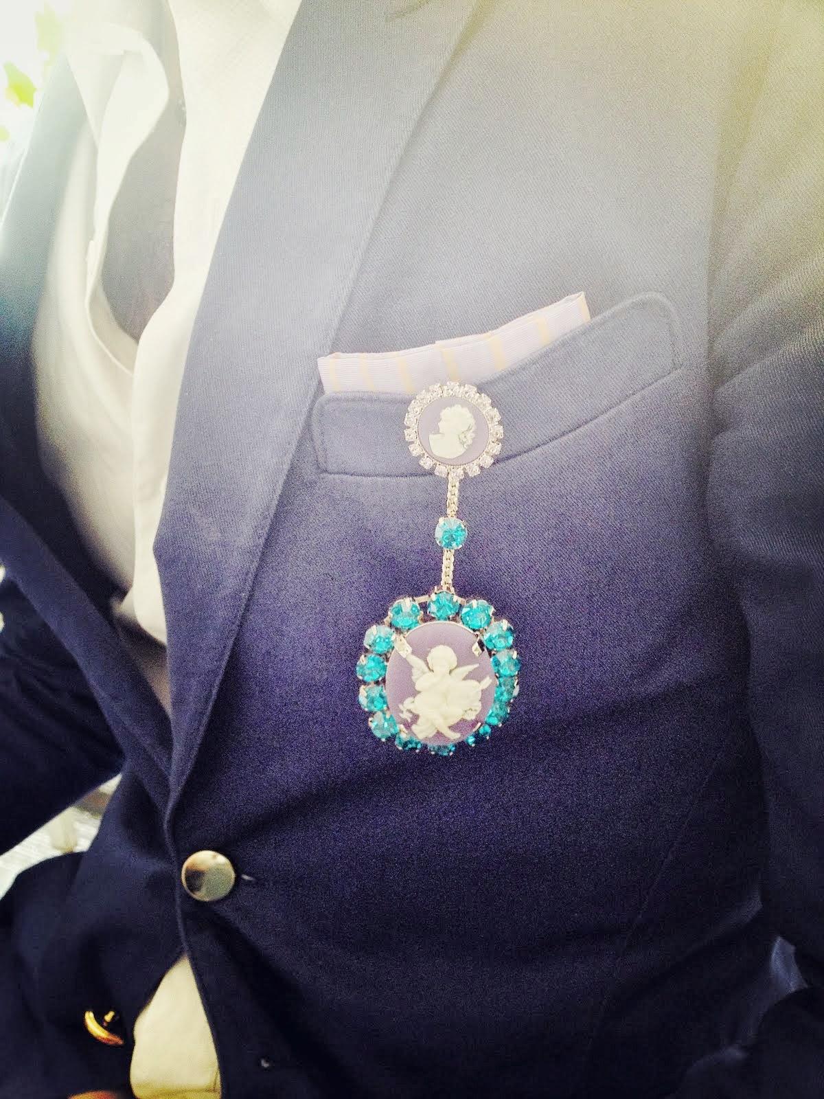 00O00 Menswear Blog: Halaby Cameo Pins