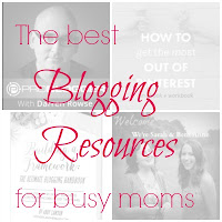 The best blogging resources for busy moms: A list of podcasts, ebooks and printables for busy blogging moms