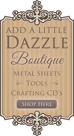 Please visit the AALD Boutique for all your metal sheet needs.