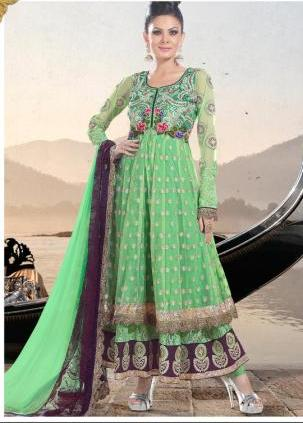 Green-Anarkali-Suit