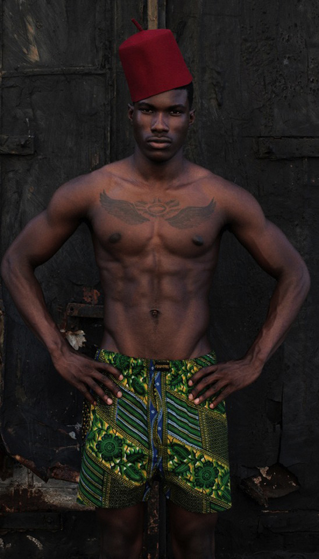 African-print Boxer shorts by president for life #kitenge #ankara
