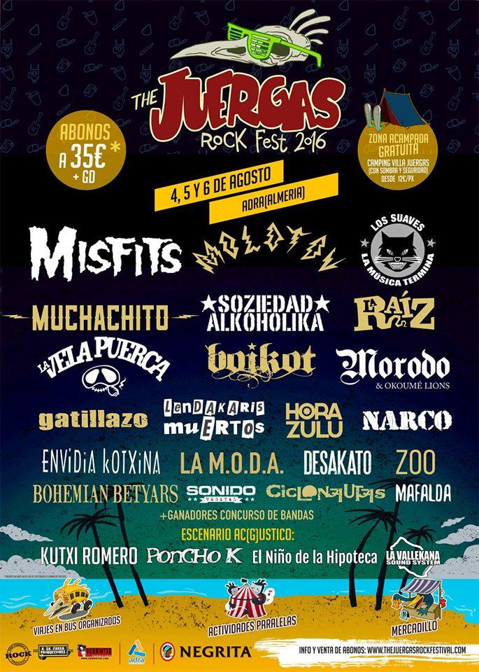 CICLONAUTAS EN EL JUERGAS ROCK