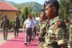 General José Luís Pinto Ramalho condecorado com Insígnia da Ordem timorense