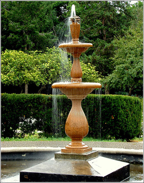 New home designs latest.: Home gardens fountain designs ideas.