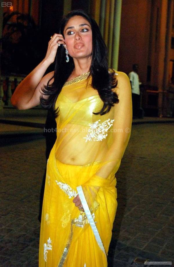 Kareena hot  in saree