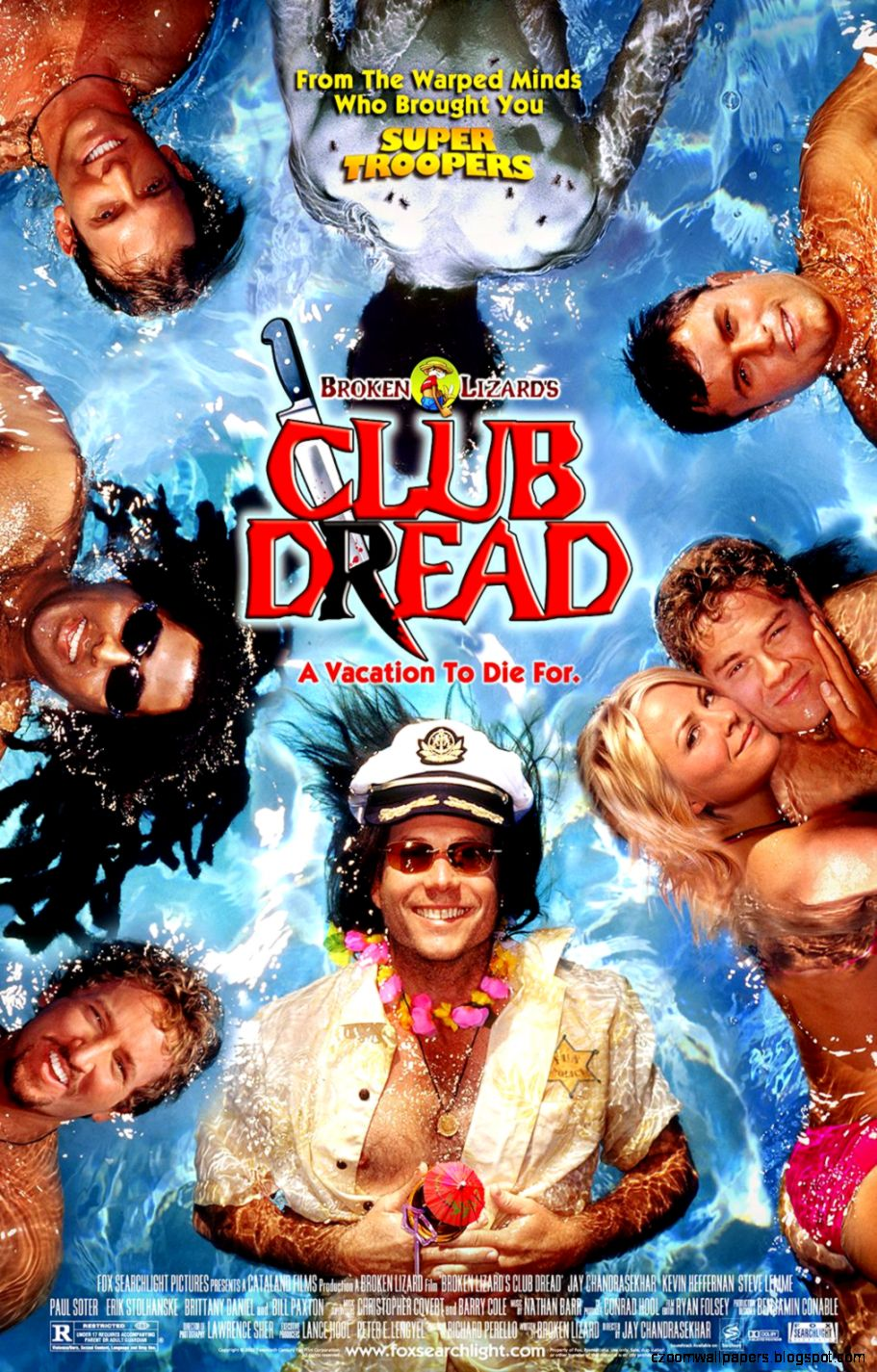 All Movie Posters and Prints for Club Dread  JoBlo Posters