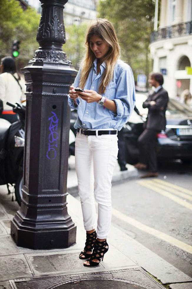 Style Shouts Trend Allert Light Blue Shirt La Camicia Azzurra