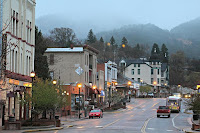 Manitou Springs- Spring Showers & Fog Down from the Mountains