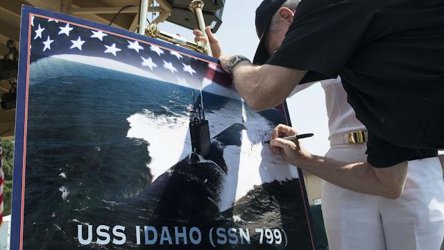 USS Idaho (SSN 799) poster