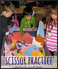 scisssor practice