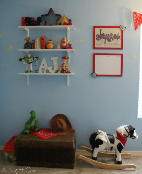 Toy Story Kids Room at @anightowlblog